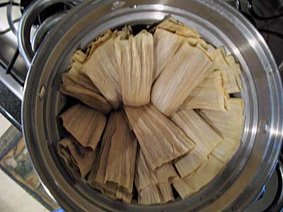 Steam Tamales