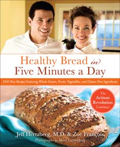 Book Cover for Healthy Bread in Five Minutes a Day